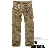 Winter L Pockets Pants For Men Cargo Pants 05 Paragraph Yellowish Brown 05 Paragraph Yellowish Brown Other Discount