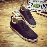 Buy Autumn And Winter Plus Velvet Men Warm Leather Casual Shoes Hight Top Shoes Black Low Top Cheap On China