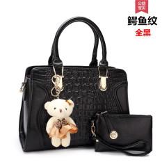 Buy Cool Female New Style Women S Shoulder Bag Full Color Large Black Online China