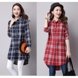 How Do I Get Autumn Korean Version Of Lattice Cotton Thin Slim Women Windbreaker Shirt Intl