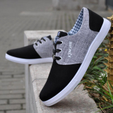 Where Can You Buy The British Autumn New Lace Up Low Top Sneakers Men S Shoes Ouma 44 Black Ouma 44 Black