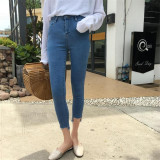 Compare Prices For Korean Style New Style Student High Waisted Jeans Pencil Pants