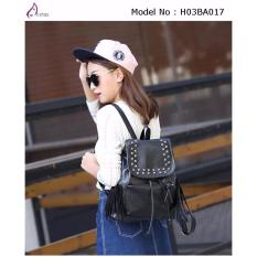 Compare Price Ax Styles 2018 04 New Style Fun Fashionable Lady Backpack Bag H03Ba017 Black Oem On Singapore