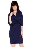 Compare Prices For Azone Women Wrap Ruched Tunic Business Casual Pencil Dress