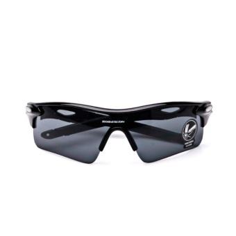 B0D0 Hot Cycling Outdoor Sport Mountain Bike MTB Bicycle Glasses Motorcycle Sunglasses Fishing Eyewear Men Women(Black)