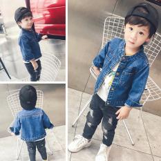 Get The Best Price For Baby Children Boys Jacket Denim Jacket