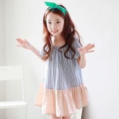 Cheapest Baby G*rl S Short Sleeved Korean Style Princess Dress Girls Dress Online
