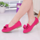 Price Compare Baby Spring And Autumn Princess Shoes New Style Kids Shoes Rose Color