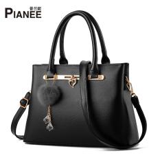 Korean Bag Ladies Bag Bags Black Black Coupon