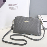 Women S Korean Style Hand Held Shell Bag Gray Gray Cheap