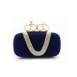 Who Sells Baglink Fashion Evening Bags With Diamond Women Clutch Bag Blue Cheap