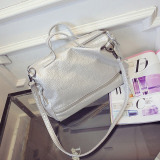 Great Deal Baglink Waterproof Soft Pu Leather Tote Bag Messenger Bag White