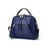 Baglink Women Casual Tote Bag Pu Leather Handbag Royal Blue On China