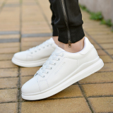 Sale Sports And Leisure Men White Shoes Canvas Shoes D006 White Oem Cheap