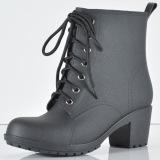 Bang Lace Up Black Martens Women Rain Boots 2016 China