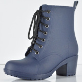 Who Sells The Cheapest Bang Lace Up Blue Martens Women Rain Boots 2016 Online