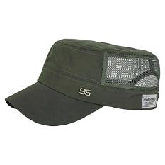 Sale Bao Core Mens Flat Half Mesh Baseball Hat Trucker Cap Travel Holiday Uv Protection Beach Sun Hats Countrywear Trekking Camping Hiking Bucket Cap Army Green Intl Oem On Hong Kong Sar China