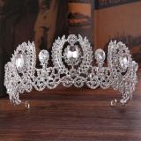 Buy Beauty Bride Headdress Baroque Luxury Crown Princess Bride Wedding Dress Accessories Fashion Femal Tiaras Intl China