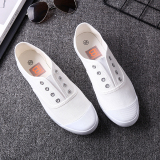 Sale Bair And Comfortable Student Campus Korean Style Canvas Shoes Canvas Men S Shoes White White Beier