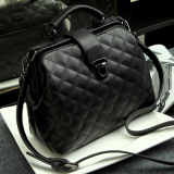 Jianyue Shoulder Doctor Bag Lingge Bag Black Lowest Price