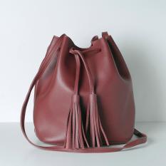 Buy Geraldine Big Bucket Bag Red Cheap Singapore