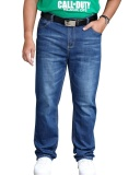 Review Big Tall Men S Jeans Relaxed Fit Casual Loose Pants Simple Plus Size 30W 48W Intl Not Specified On China
