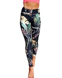 Retail Bigood Women Flower Print Sports Gym Yoga Workout Athletic Leggings Pants Intl