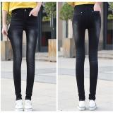 Price Black 2017 Women New Fashion Ripped Denim Jeans Skinny Stretch Pencil Jeans Ladies S*Xy Streetwear Spring Summer Autumn Pants Intl China