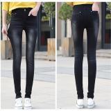 Buy Black 2017 Women New Fashion Ripped Denim Jeans Skinny Stretch Pencil Jeans Ladies S*xy Streetwear Spring Summer Autumn Pants Intl Oem