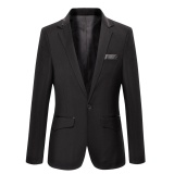 Top Rated Black 301 Luxury New Men Wedding Suit Male Blazers Slim Fit Suits For Men Costume Business Formal Party Classic Jacket Intl