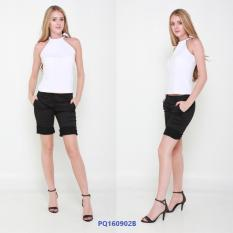 Who Sells Black Knee Length Cotton Shorts Cheap