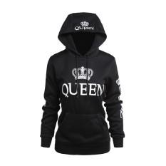 Top 10 Blackhorse 2018 Queen King Printed Hooded Lovers Sweatshirt Long Sleeve Couples Sweat Jacket Hoodies Casual Sweatshirts For Women Men M Xxl Queen Intl