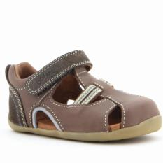 Who Sells The Cheapest Bobux Baby Leather Sandals Choc Intrepid Online