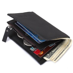 BOGESI Multifunction Men Wallet with the Zipper Wallet Double design  Leather men s Wallet coin pocket wallet f6f0036c2ee6a