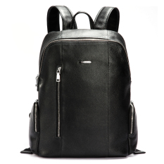 Price Comparison For Bostanten Men S Genuine Cowhide Leather Big Backpack Black Free Leather Keychain