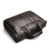 Price Bostanten Men S Genuine Cowhide Leather Formal Bag Business Shoulder Bag Brown On Singapore