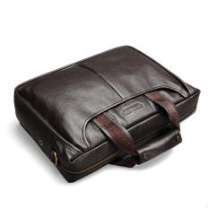 Cheap Bostanten Men S Genuine Cowhide Leather Formal Bag Business Shoulder Bag Brown