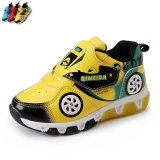 Buy Cheap Boy Or G*rl S Non Slip Breathable Flashing Lights Fashion Sneakers Color Yellow Intl