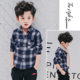 Where To Shop For Boys 2017 Summer Short Sleeved White Shirt 4 Children 8 Years Old Cotton Korean Style Shirt 13 Years Old Casual Top Tide Gray