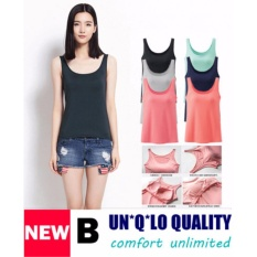 Coupon Bra Top Padded Camisole Tank Top B Grey Color