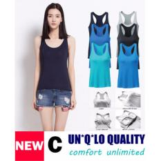 How To Buy Bra Top Padded Camisole Tank Top Bra C White