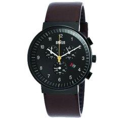 Braun Men Classic Chronograph Watch Bn0035Bkbrg Lowest Price