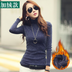 Top 10 Glittery Threads Autumn Winter New Style Turtleneck Base Shirt