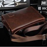 Deals For Britan Pure Color Multifunctional Large Capacity Leather Business Bag Intl