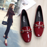 Review Women S All Match Flat Shoes Black Black On China