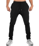 Sale Brother Muscle Fitness Dog Sweatpants Athletic Pants Black Zip On China