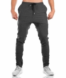 Review Brother Muscle Fitness Dog Sweatpants Athletic Pants Dark Gray Color Zip On China