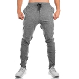 Review Brother Muscle Fitness Dog Sweatpants Athletic Pants Gray Zip Other On China