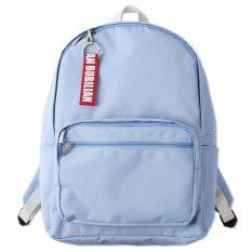 Promo Bubilian Btbb Unisex Korean Basic Backpack Sky Blue Intl