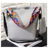 Best Rated Bucket Bag Tribal Strap Bucket Bag Grey
